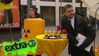 Schlegl in Aktion: Hilfe für arme Atomindustrie