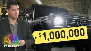 $1 million dollar bullet proof Mercedes G-Wagon