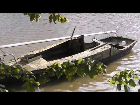 Truro River Fal Boat Wrecks Boscawen Park Malpas Road Durandal Abandoned Wooden Dilapidated Vessel