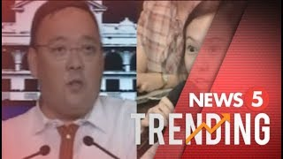 Sec. Roque at Rappler reporter Pia Ranada, nagkasagutan