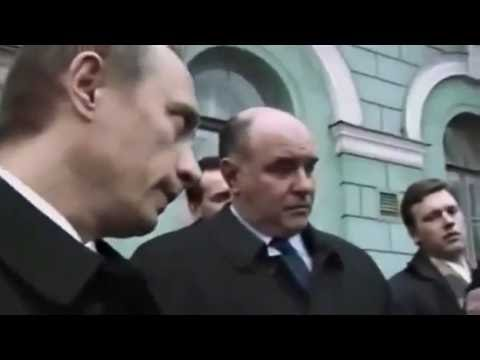Охрана Путина не сработала  Однако Путин не трус!