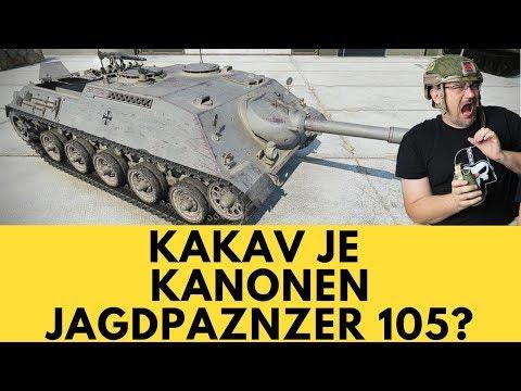 Kakav je KanonenJagdPanzer 105?   World of Tanks Balkan thumbnail