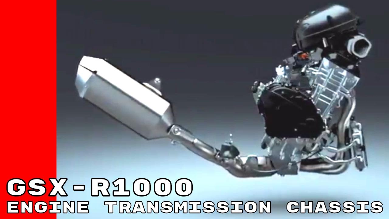2017 Suzuki GSX R1000 & R Engine, Transmission, Chassis Design - YouTube