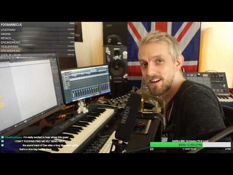 Live Composing To A PAINTING (Angus Mackay - The Lonely Piper)