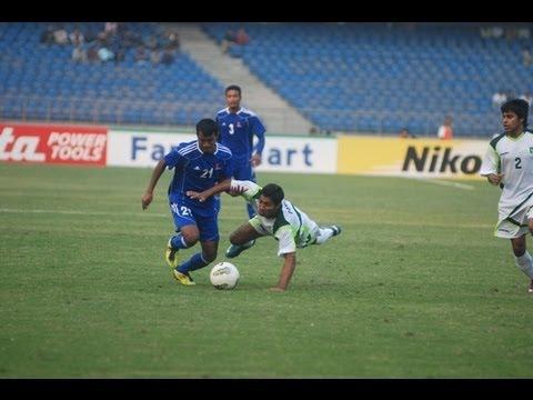 Pakistan vs Nepal (Full Match) SAFF Championship 2011