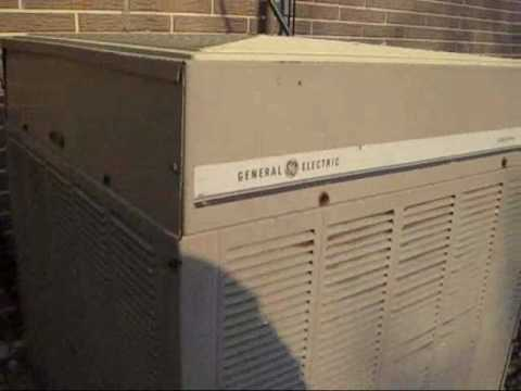 Air Conditioner Fan >> Old GE Executive Air Conditioner - YouTube