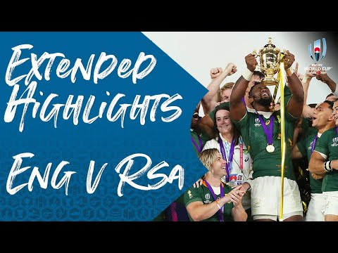 Extended Highlights: England V South Africa | Rugby World Cup Final 2019