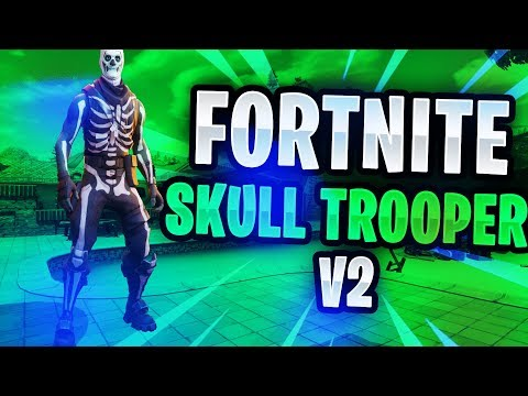 FORTNITE HOW TO GET THE SKULL TROOPER V2 *WORKING NOW*