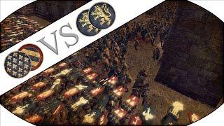 MASSIVE 15000 VIKING INVASION SIEGE DEFENCE - Medieval Kingdoms 1212 AD Mod Multiplayer Gameplay!
