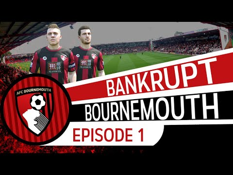 FIFA 16 | Bournemouth Career Mode #1 - The Plot [BANKRUPT BOURNEMOUTH]