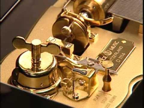 Boîte à musique Reuge à cylindres interchangeables