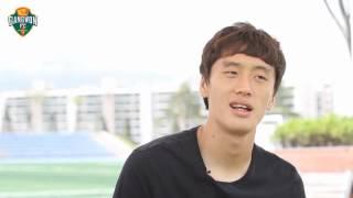 강원FC 영상매거진 2012년 2호 오재석 인터뷰 1부
