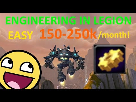 Legion Goldmaking With Engineering (150-200k per month)