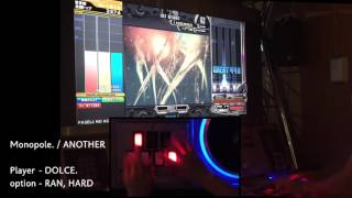Monopole. (A) / played by DOLCE. / beatmania IIDX22 PENDUAL [手元付き]