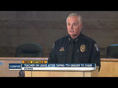 Police chief: Video, new information led to criminal investigation of teacher taping child to chair