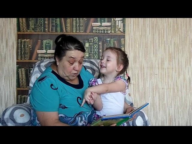 Изображение предпросмотра прочтения – ВераНикифорова читает произведение «Сказка Репка» (Русский фольклор )