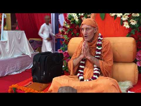 2017/10/ 29, Bg 4 34, Initiation Lecture, Vrndavana, Uttar Pradesh, India