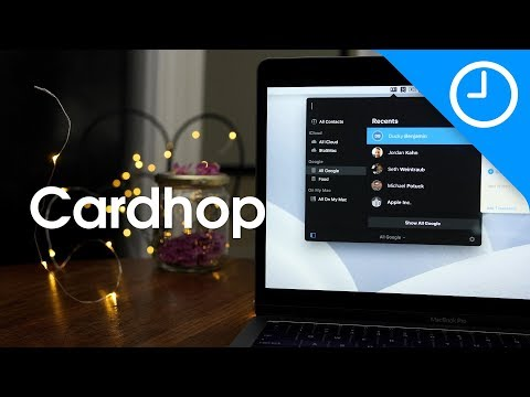 Friday 5: Cardhop makes managing contacts fun [9to5Mac]