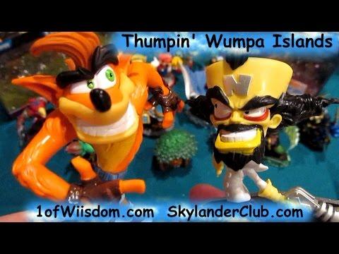 Skylanders Imaginators Unboxing Thumpin' Wumpa Islands with Crash Bandicoot Dr. Neo Cortex