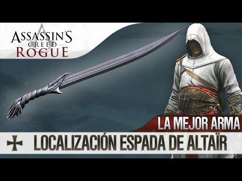 Assassin's Creed Rogue | Conseguir el mejor ARMA | Localización Espada Altaïr (Unlock Altaïr Sword)