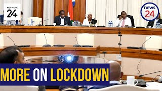 WATCH LIVE | WATCH LIVE | Social cluster to provide clarity on lockdown measures