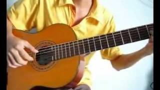 YouTube   Guitar Trieu Doa Hong Million Scarlet Roses