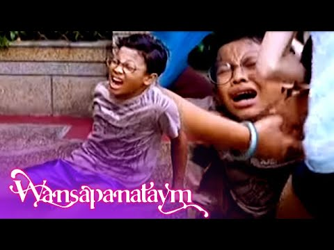 Wansapanataym: Ving falls from the roof