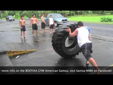 BOOYAA GYM American Samoa Tire Relay Race