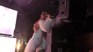 Hannah Diamond - Never Again (HD) - Fire, London - 05.12.19