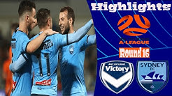 Melbourne Victory vs Sydney FC 0-3 Highlights All Goals (Round 16) Hyundai A-League 24.01.2020