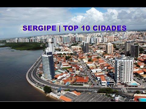 Sergipe   Top 10 Maiores Cidades do Estado de Sergipe