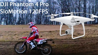 DJI Phantom 4 Pro Motocross SlowMotion (Full HD @ 120FPS)