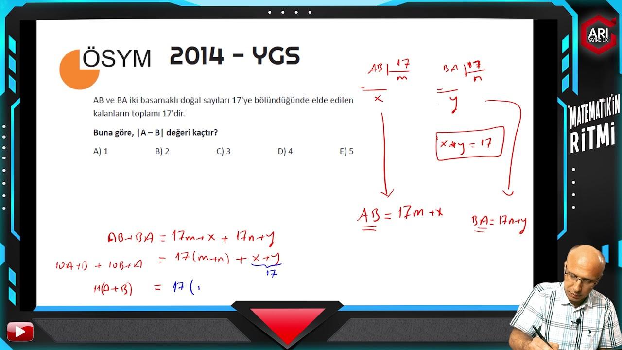 DGS 2020 Matematik Soruları Ve Açıklamalı Çözümleri ( 60 Sorunun Tamamı )