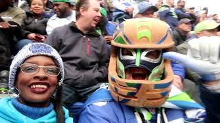 TAILGATING AT THE BEAST BUS: SEATTLE SEAHAWKS VS LA RAMS