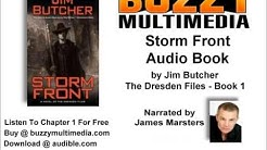 Audiobook: Storm Front: The Dresden Files, Book 1 (Unabridged) - Jim Butcher FREE chapter!