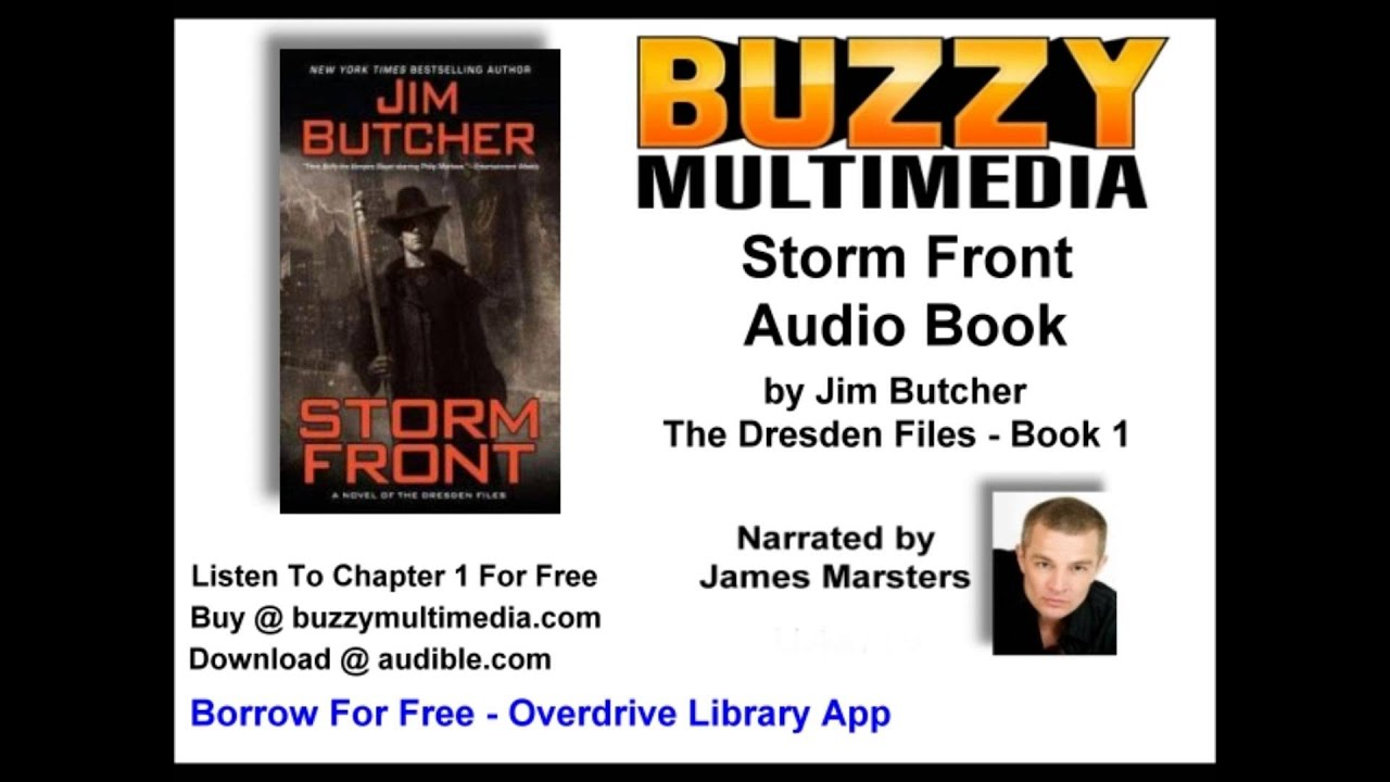 Audiobook: Storm Front: The Dresden Files, Book 1 (unabridged)  Jim Butcher  Free Chapter!