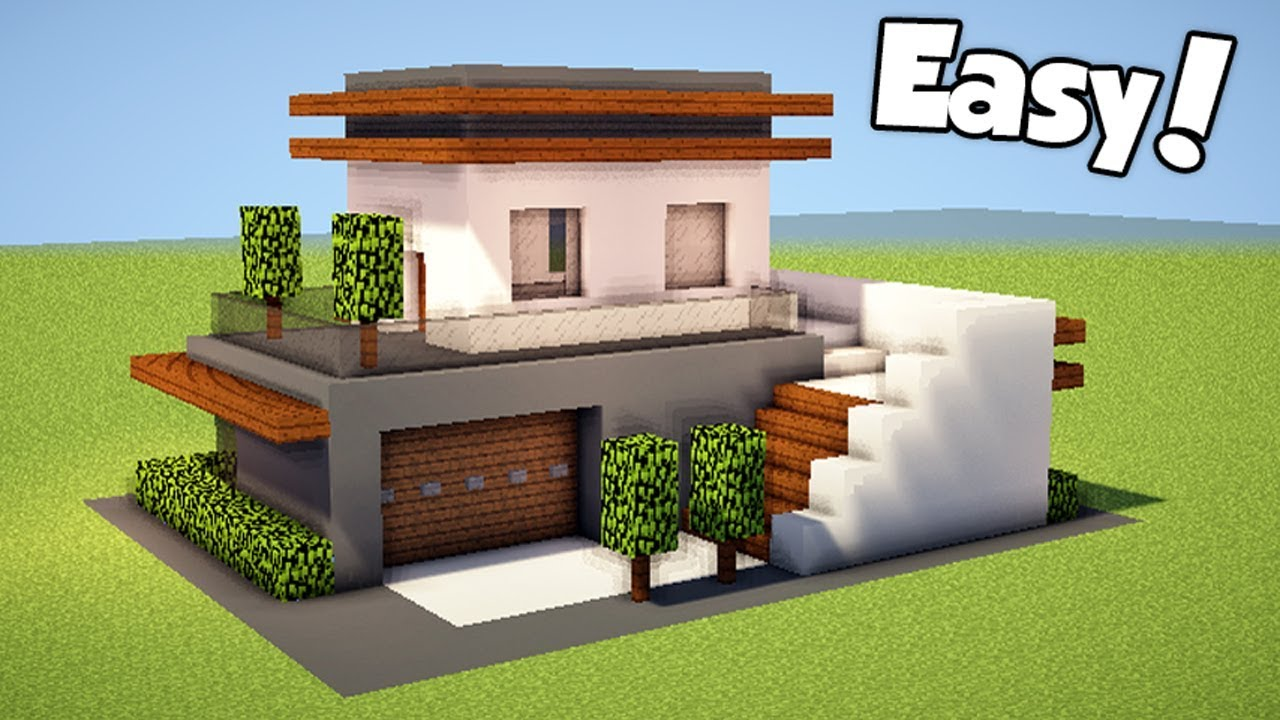 Modern Minecraft Small House Designs