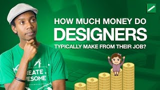 Graphic design: how much money do designers make? if you are wondering paid this video might help understand a gra...