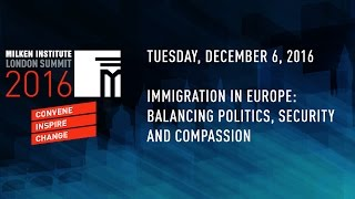 Immigration in Europe: Balancing Politics, Security and Compassion