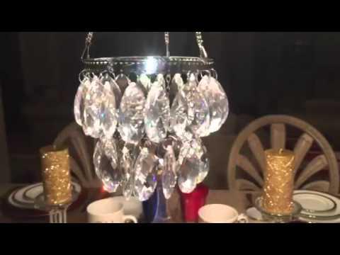 Gorgeous swarovski crystal tea light chandeliersuncatcher mobile gorgeous swarovski crystal tea light chandeliersuncatcher mobile aloadofball Gallery
