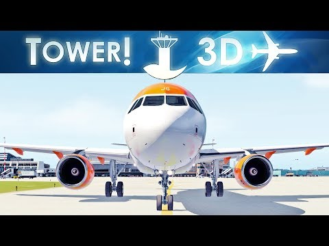 London Gatwick Airport   Tower!3D Pro
