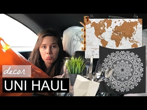 UNI DECOR HAUL -aka things to make uni homely