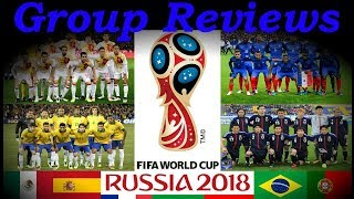 Football world cup 2018 | review for every group (a-h) | who will win germany / brazil | fifa russia