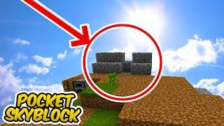Minecraft Pocket Skyblock Ep.2 - FIZ UMA COISA MUITO ARRISCADA !!
