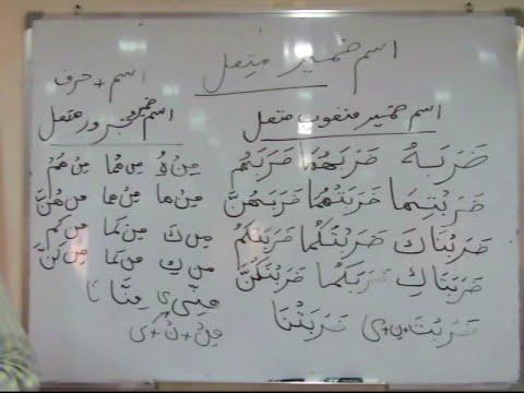 Arabic Grammar (Arabic - Urdu) - Alhuda Online Books