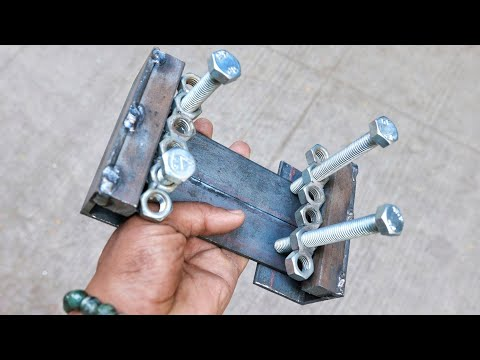 How To Use NUT & BOLT To Make A Tool