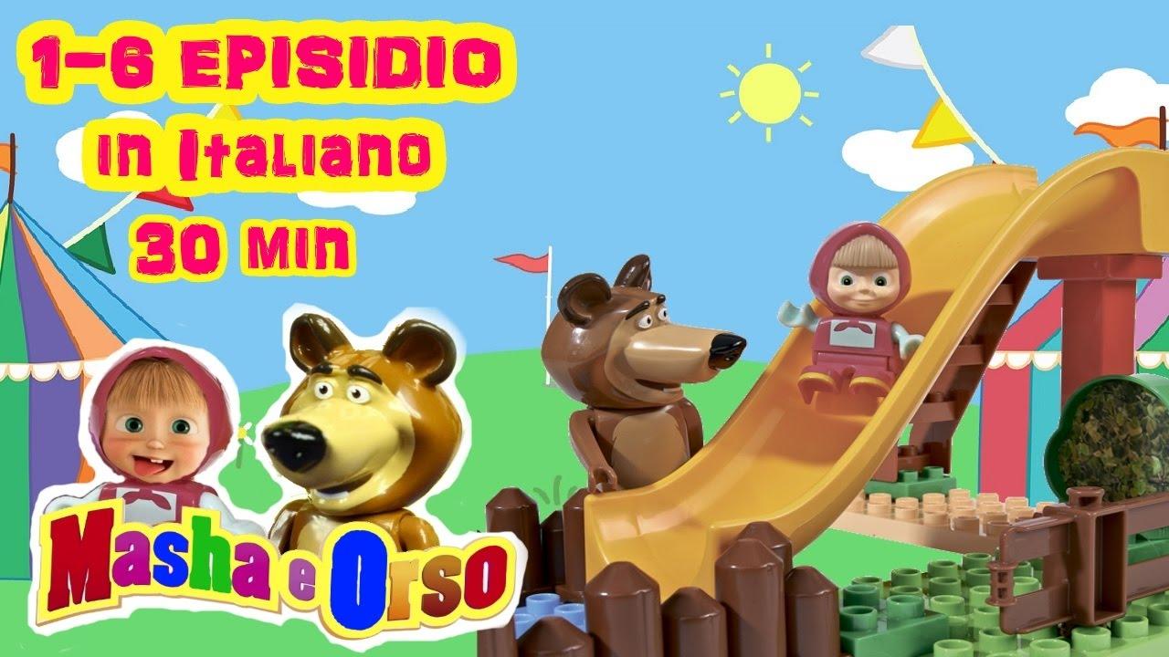Masha e orso episodi italiano cartoni animati completi
