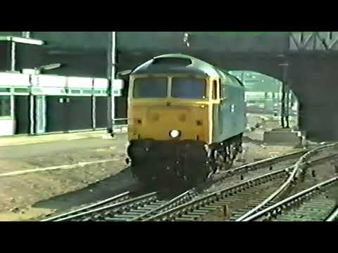 Trains At Bedford, Woburn And Bletchley - 1984