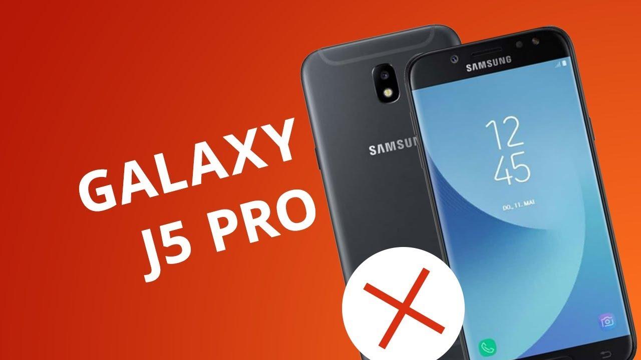 e4e7209b9 5 motivos para NÃO comprar o Galaxy J5 Pro - YouTube