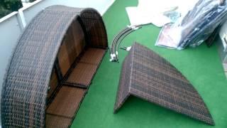 Обзор и сборка мебели для Балкона/ Террасы/Сада
